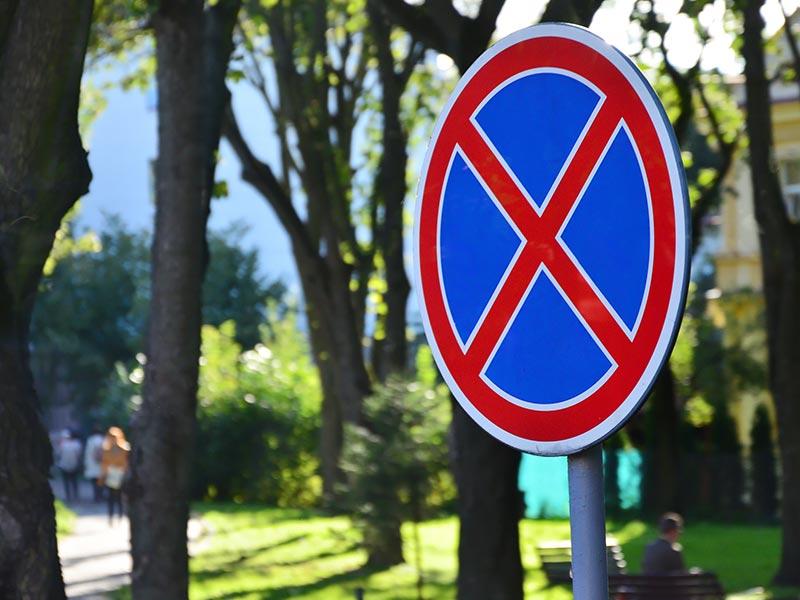 Parkverbotszonen Halteverbotszonen Baustellenabsicherung